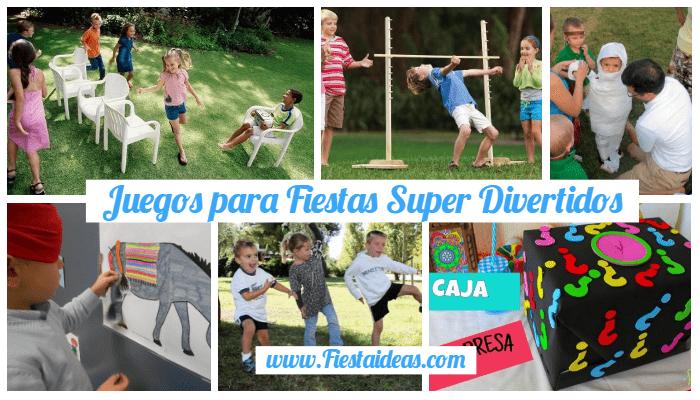 19 Juegos Para Fiestas Infantiles Actividades Muy Divertidas