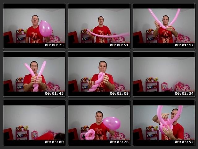 como hacer decoracion con globos para baby shower Chupones