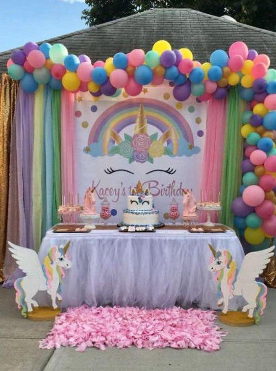 Ideas para fiestas de unicornios
