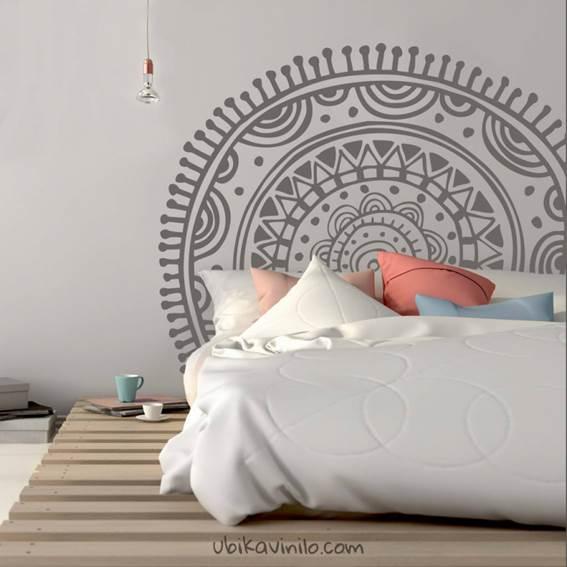 Mandalas para decorar las paredes de cuartos
