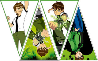 ben 10 free birthday invitation