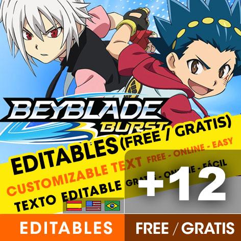 12 free beyblade burst birthday