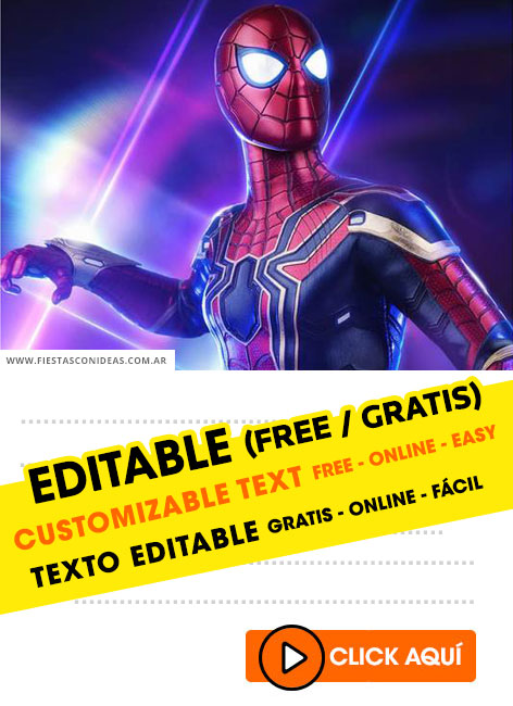 55 free spiderman birthday invitations