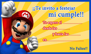 super mario bros free birthday