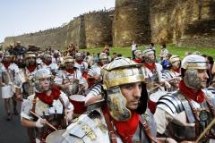 Desfile de las Legiones Romanas