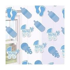 Adornos Para Baby Shower De Varon.Decoraciones Para Baby Shower Varon Sencillo Free Printable