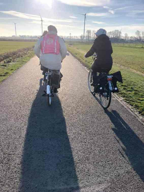 Onderweg naar Boer Pait Peter Hoogendonk, Polderhaakweg 29, HvH — bij Boerderij Hoogendonk.
