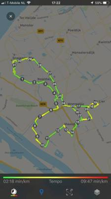31 km in de beentjes — bij Fietsen voor m'n eten.