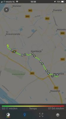14 km in de beentjes voor de bijeenkomst van Bezoek Westland — bij Fietsen voor m'n eten.