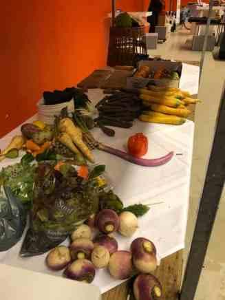 Van Gelder groente & fruit doneerde een deel van de totale hoeveelheid groenten en fruit aan Team Westland — bij Jaarbeurs.