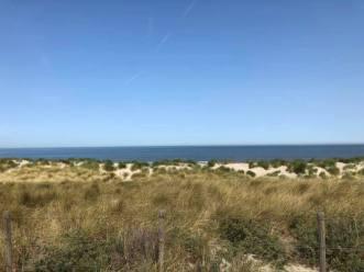 Stilte voor de storm in de duinen bij Arendsduin