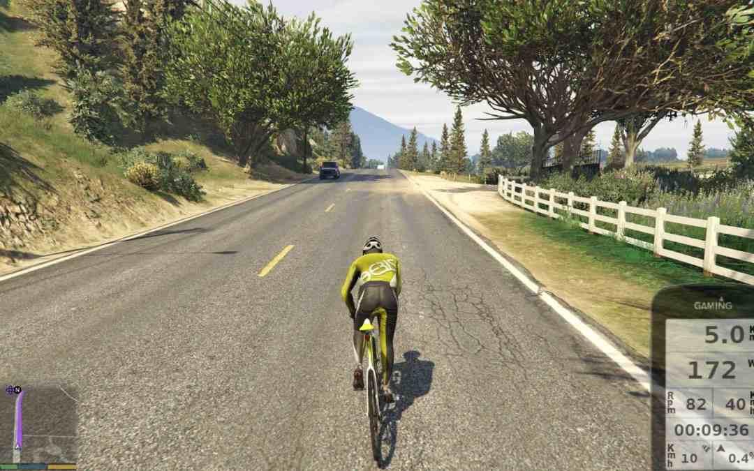 Op de fiets door GTA… (met je fietstrainer)