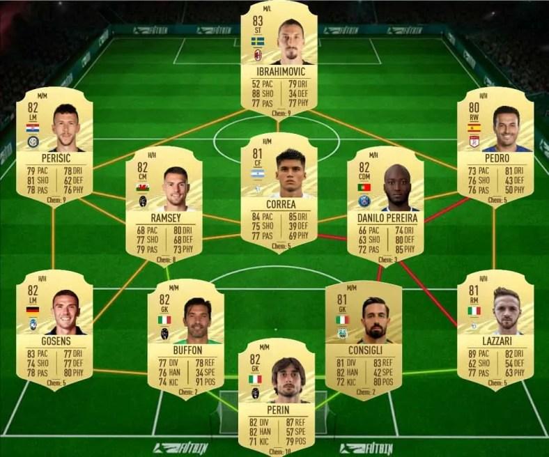 FIFA 21: DME Godin vs Castillejo Showdown disponível | FIFA Brasil Notícias