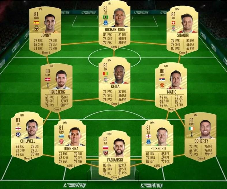 FIFA 21: Curtis Jones Favorito de fevereiro do FUTTIES disponível em DME | FIFA Brasil Notícias