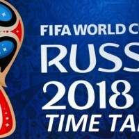 FIFA World Cup 2018 Fixtures Time
