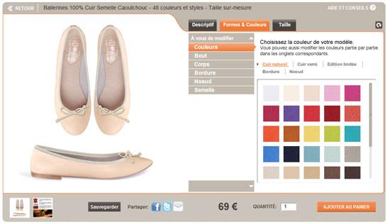 Des chaussures et des vêtements entièrement personnalisés : iDbyMe !   2011 03 24 13h30 48