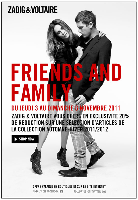 Zadig & Voltaire   Friends and Family   2011 11 04 13h43 54