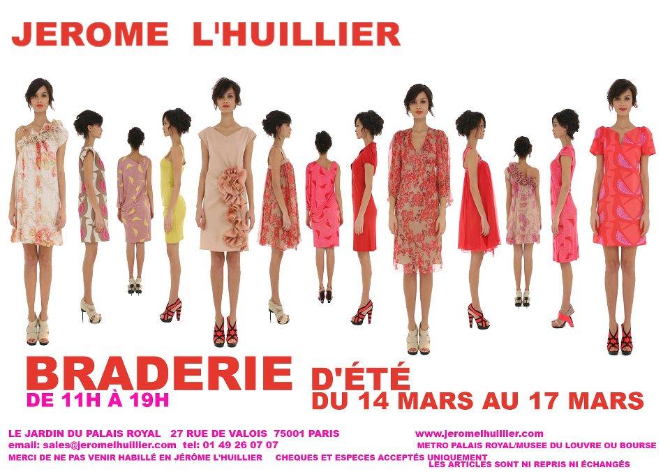 Braderie Jérôme L'Huillier
