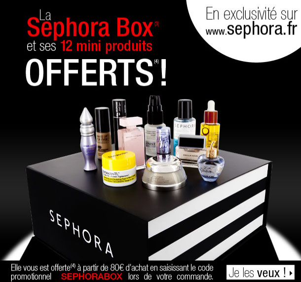 La Surprise Box de Sephora ?   sephora box