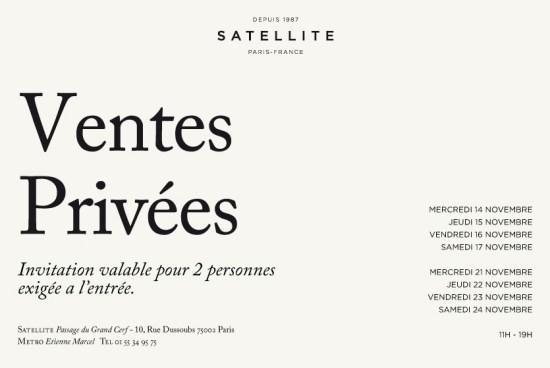 Ventes privées Satellite   ventes privees satellite 550x368