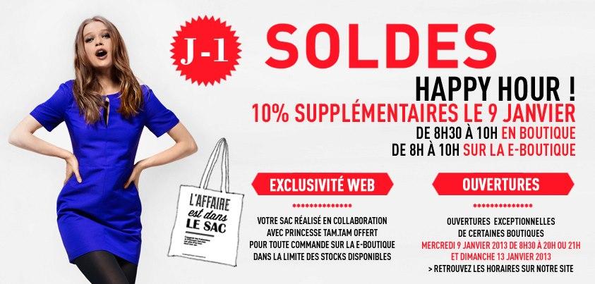 Réductions supplémentaires   Soldes Comptoir des cotonniers   Hiver 2013   soldes comptoir des cottoniers