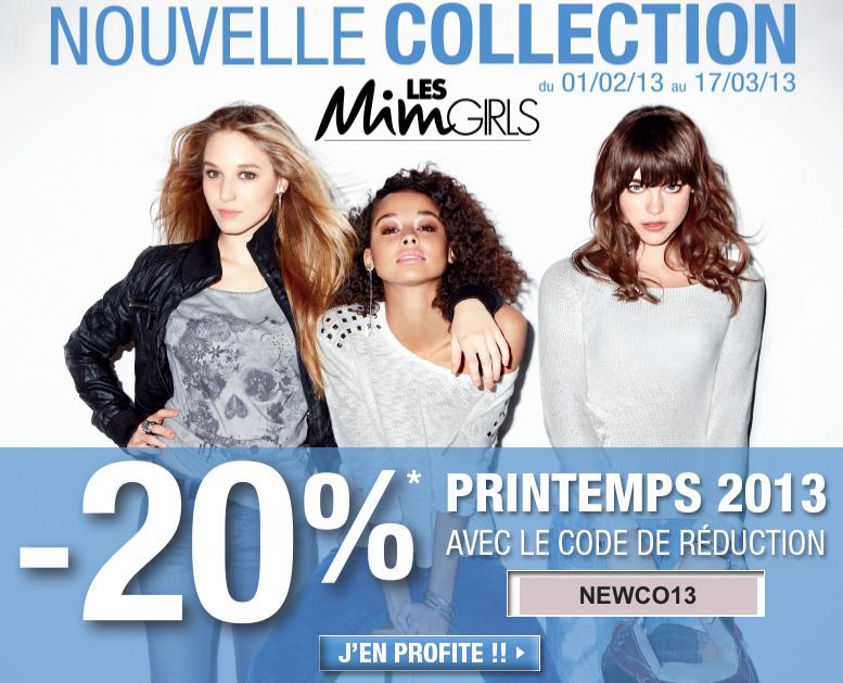 Réduction nouvelle collection Mim   Printemps 2013   mim