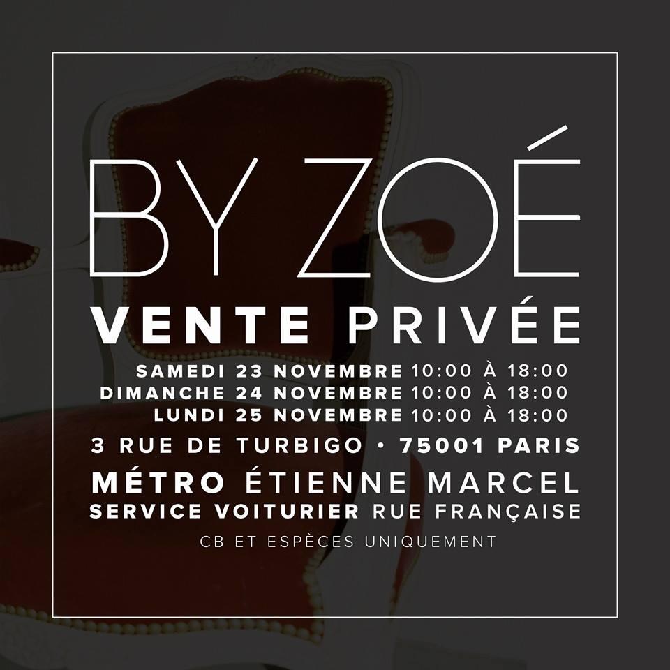 Ventes privées By Zoé   by zoe