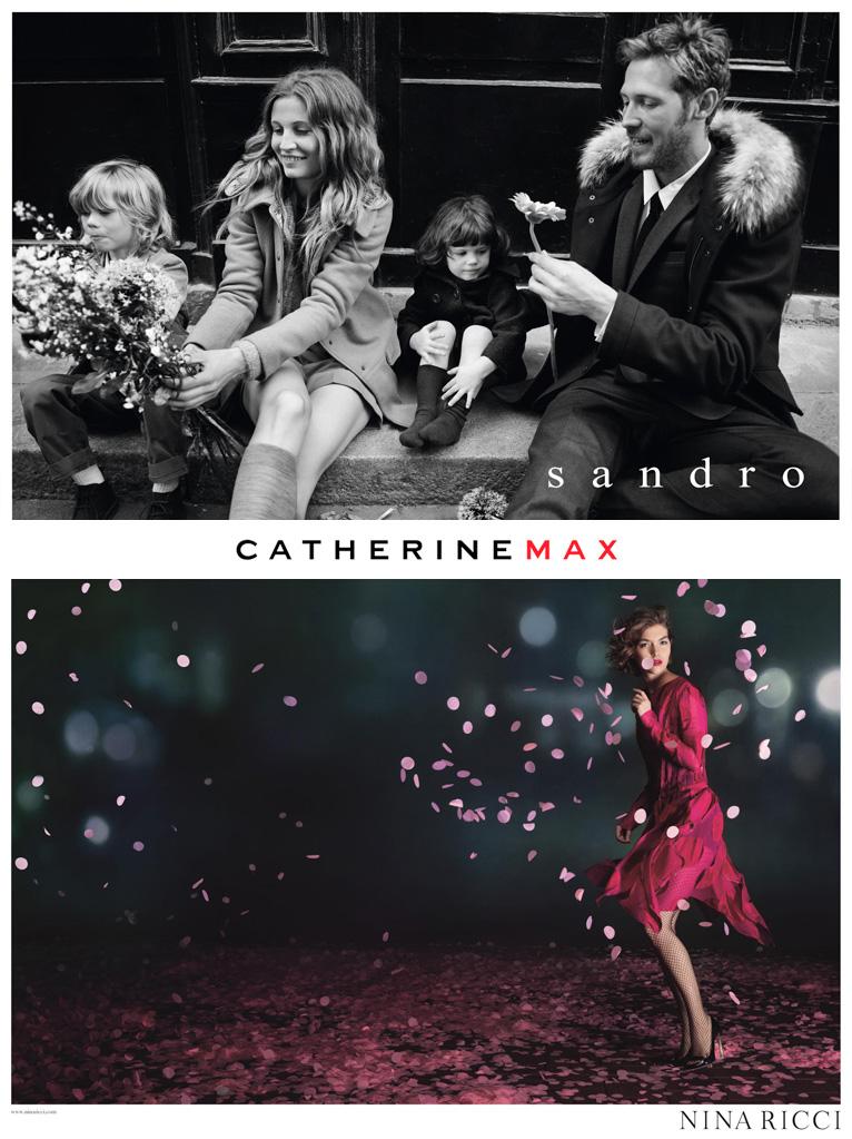 Vente privée Sandro et Nina Ricci   Automne 2013   catherine max