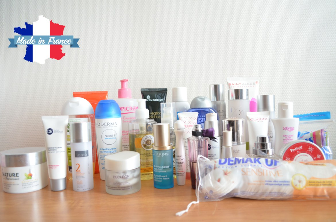 Les cosmétiques Made in France   soins made in france