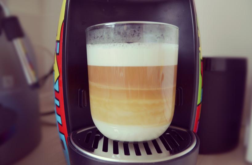 Du café pour Monsieur et Madame   latte macchiatto caramel