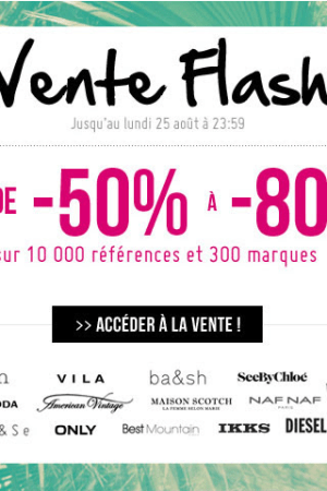 vente flash monshowroom