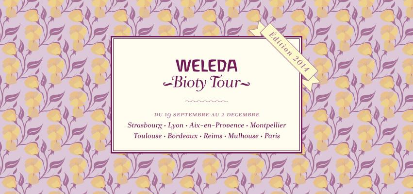 Weleda Bioty Tour – Edition 2014   weleda bioty tour