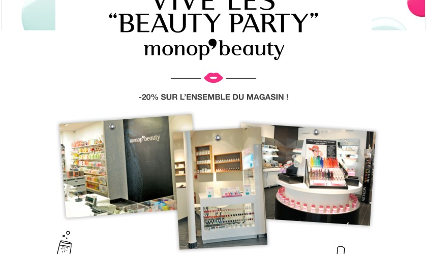 MONOPRIX-BeautyParty