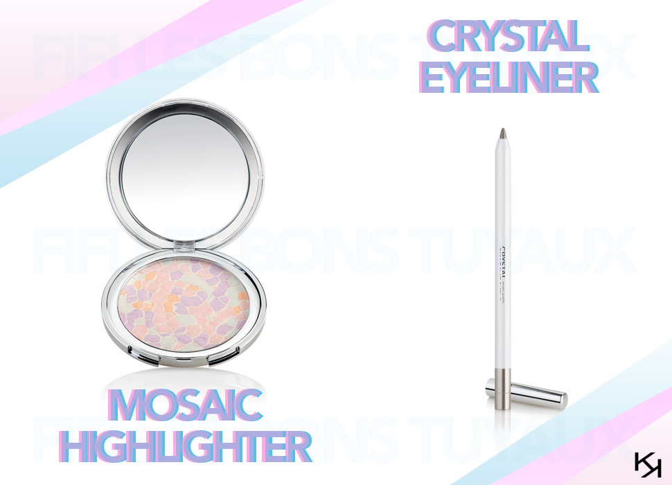 Generation Next   Kiko Printemps 2015   crystal eyeliner mosaic highlighter kiko