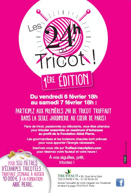 Les 24h du tricot Truffaut   truffaut tricot