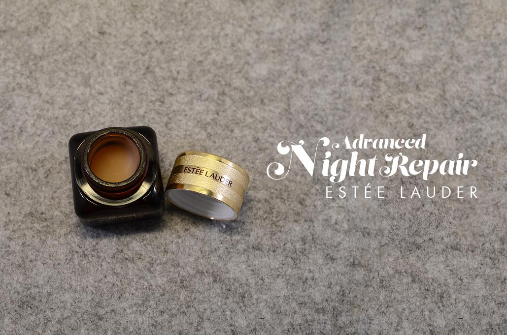 Ma tartine du moment #1   adavanced night repair estée lauder