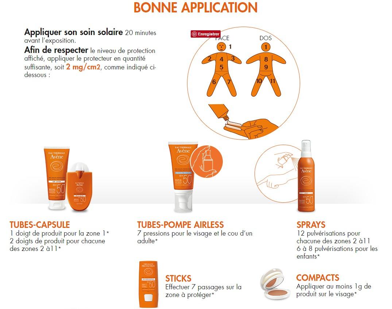 Skin protect, Ocean Respect, la démarche éco responsable d'Avène   application solaire avene