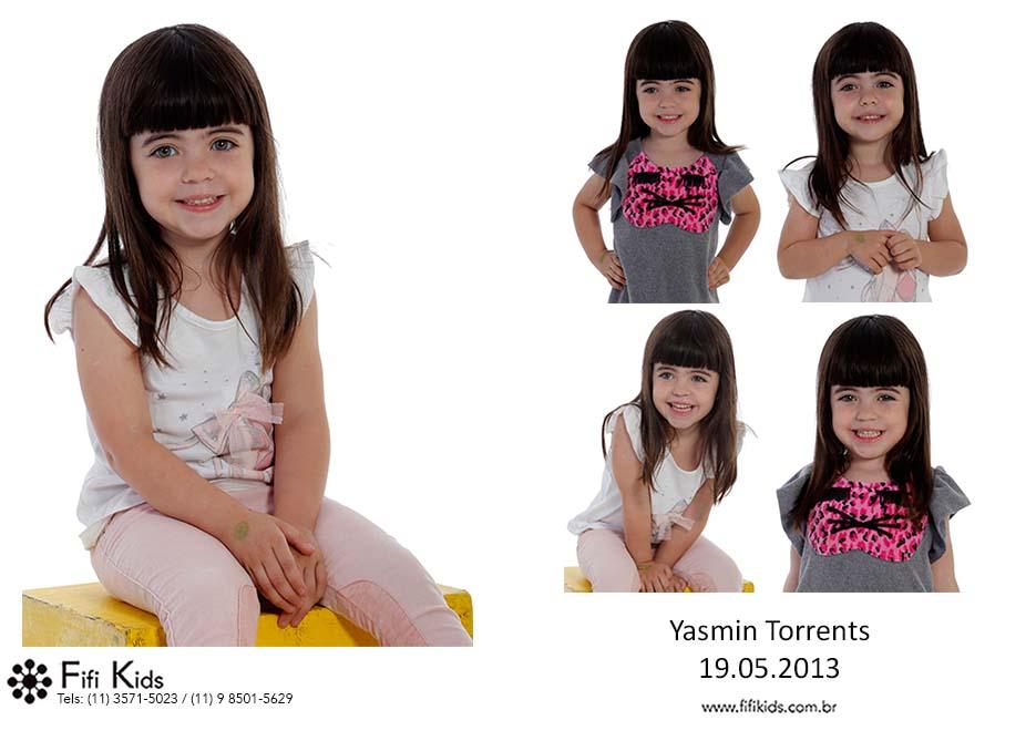 Yasmin Torrents Fifi Kids Agência de modelos e atores mirins