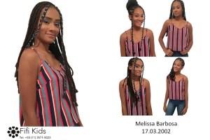 Melissa Barbosa 17.03.2002