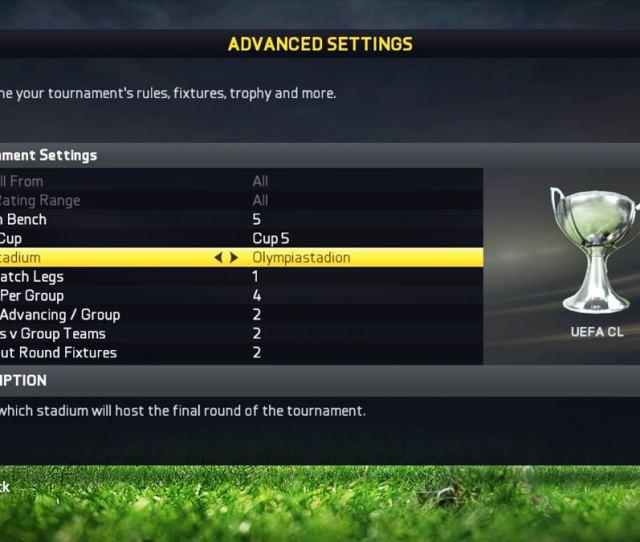 Fifa 15 Uefa Champions League