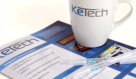 Ketech Promotional Goods by fifteen design