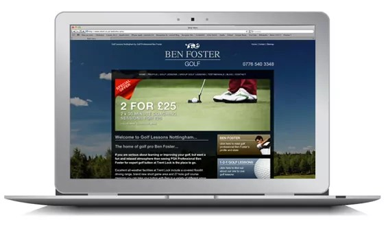 Ben Foster - Golf Lessons Nottingham