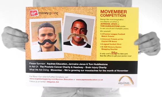 Supporting Aquinas in Movember