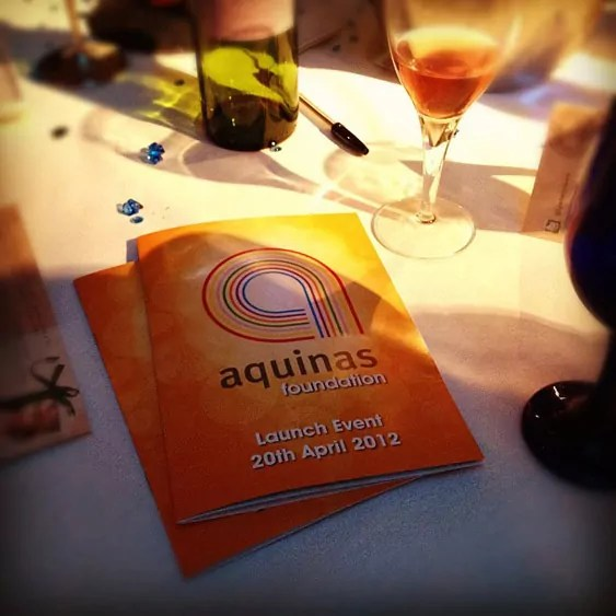 Aquinas Foundation brochures