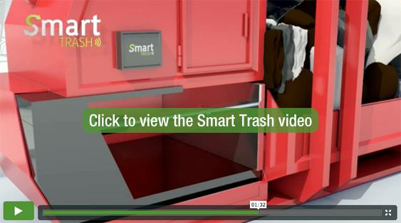 Smart Trash video