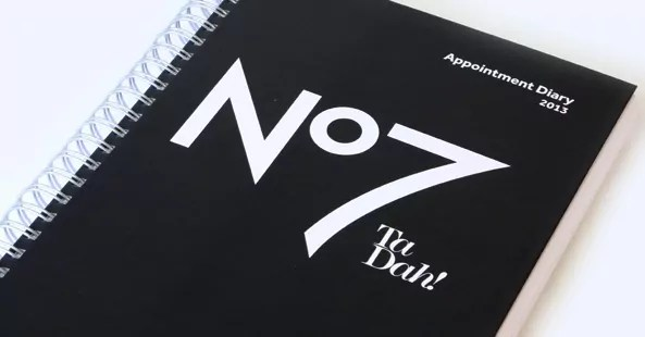 Boots No7 Diary Design