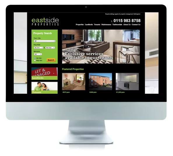 Eastside Website Design changes