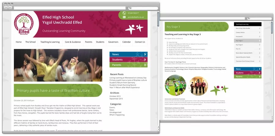 elfed-high-school-responsive-website-design