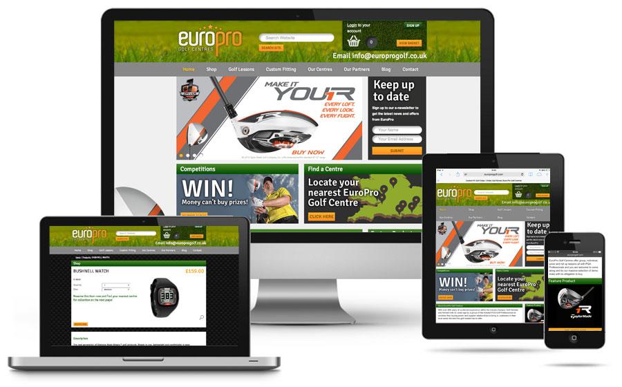 europro-golf-centres-responsive-website-design