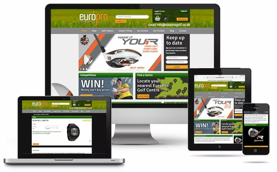 europro-golf-centres-responsive-website-design